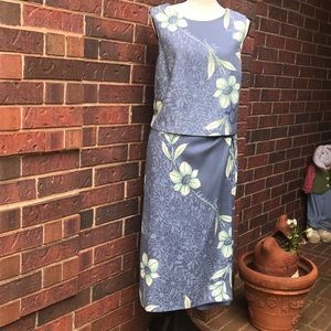 Vintage Tommy Bahama two piece dress